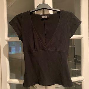 Reformation Black Top Size M